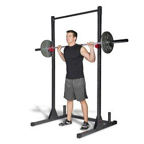 cap barbell squat stand