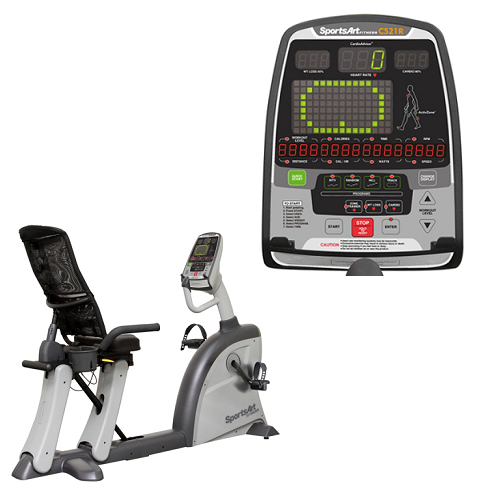 SportsArt Fitness C521r Recumbent Cycle– Reviews
