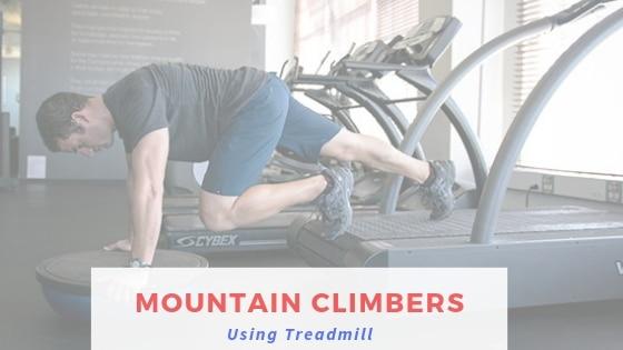 Mountain Climbers Using Treadmill