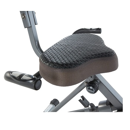 Exerpeutic Exerwork 1000 Adjustable Desk Folding Exercise Bike 3
