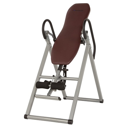 Exerpeutic Inversion Table with Comfort Foam Backrest 1