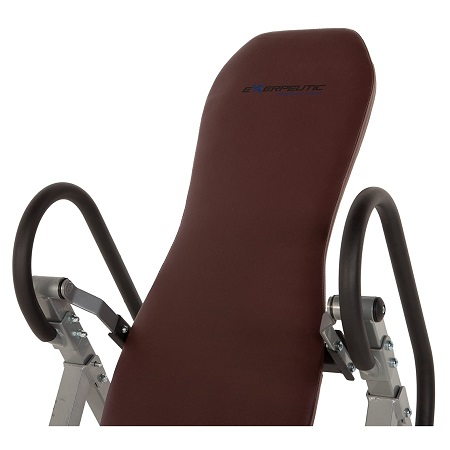 Exerpeutic Inversion Table with Comfort Foam Backrest 2