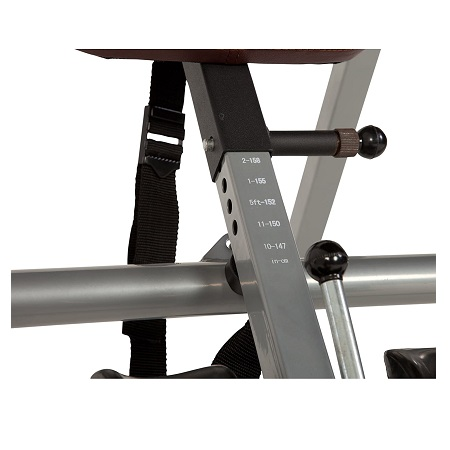 Exerpeutic Inversion Table with Comfort Foam Backrest 4