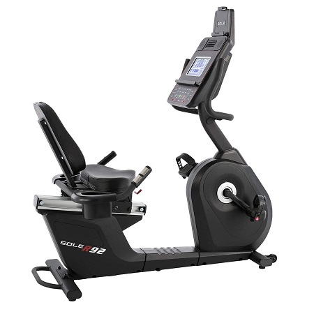 Sole Fitness R92 Recumbent Bike 2